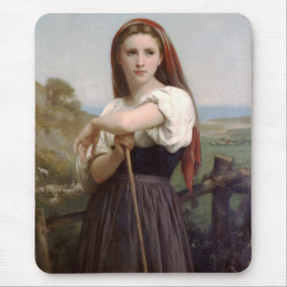 Young Shepherdess Mouse Pad