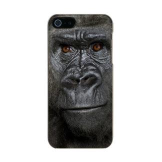 Young Silverback Gorilla Metallic iPhone SE/5/5s Case