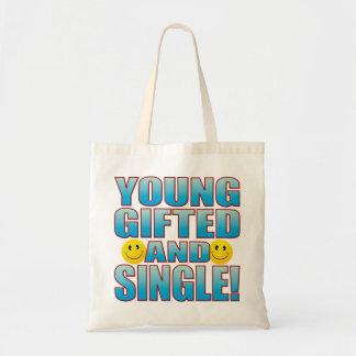 Young Single Life B Tote Bag