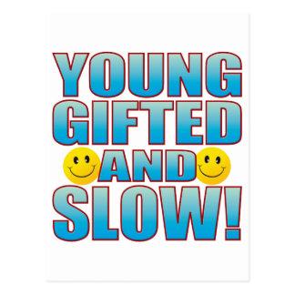 Young Slow Life B Postcard