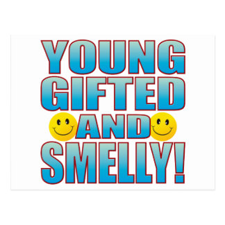 Young Smelly Life B Postcard