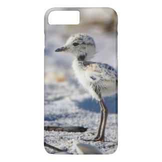 Young Snowy Plovers (Charadrius alexandrinus) iPhone 8 Plus/7 Plus Case