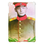 Young soldier from bygone era iPad mini case