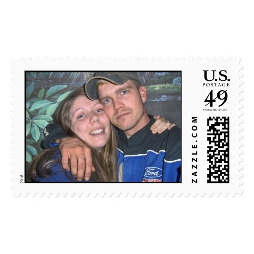 young soldier love postage stamp