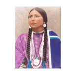 Young Southwest U.S.A. Native American Woman Canvas Print