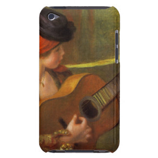 Young Spanish Woman by Renoir, Impressionism Art iPod Touch Cover