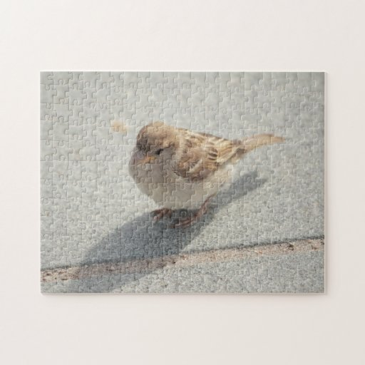 young sparrow jigsaw puzzles