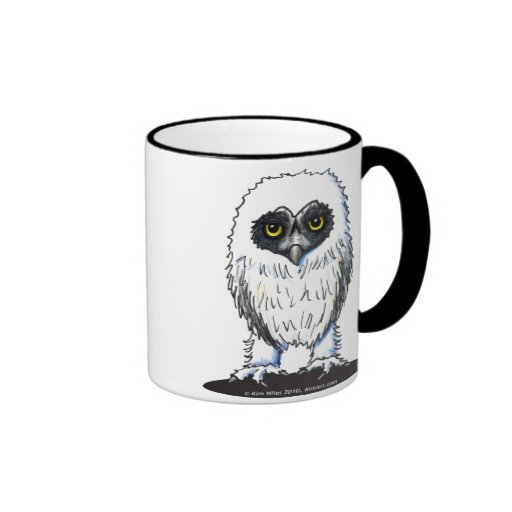 Young Spectacled Owl Mug