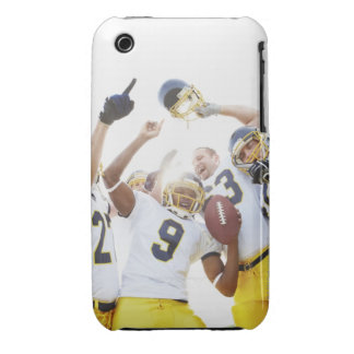 Young sportsmen playing rugby Case-Mate iPhone 3 case