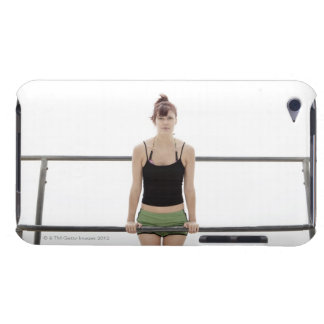 young sporty woman on a holm outside barely there iPod cases