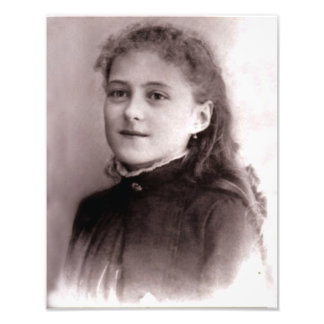 Young St. Therese of Lisieux, Photo Print