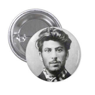 Young Stalin Button