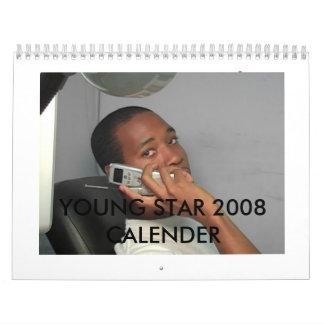 YOUNG STAR CALENDER CALENDAR