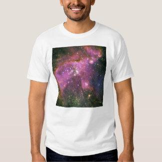 Young Stars Sculpt Gas Small Magellanic Cloud T-shirt
