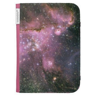Young Stars with Pink Kindle Case