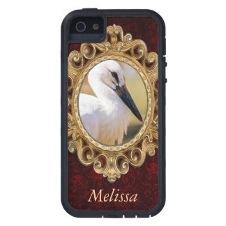 Young Stork Bird, Animal Portrait Photograph Case For iPhone 5