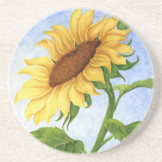 Young Sunflower - Coaster