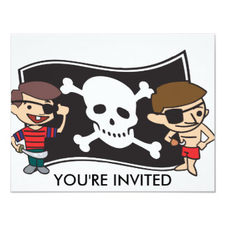 Young Swashbucklers Customize Text Card