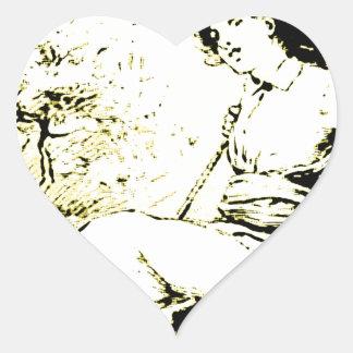 Young Swinger Heart Sticker