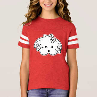 young t-shirt small dog, red, the world of Lua