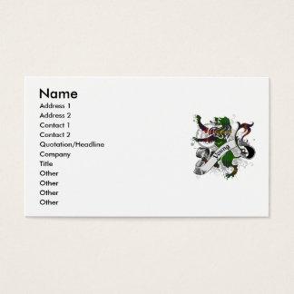 Young Tartan Lion Business Card