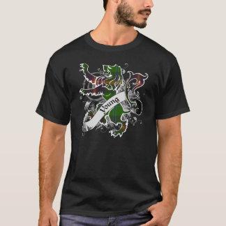 Young Tartan Lion T-Shirt