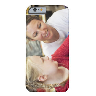 young teacher discussing homework w/ student barely there iPhone 6 case