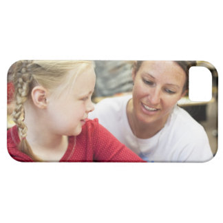 young teacher discussing homework w/ student iPhone SE/5/5s case