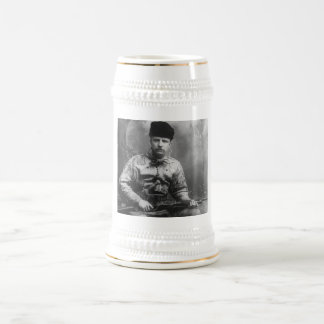 Young Teddy Roosevelt 18 Oz Beer Stein