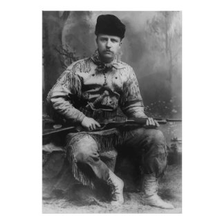 Young Teddy Roosevelt Poster
