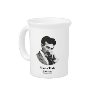 Young Tesla Beverage Pitcher