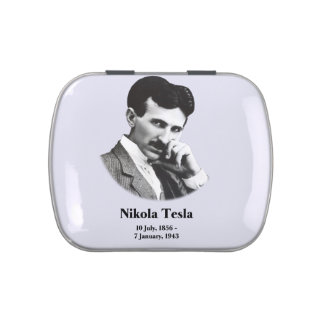 Young Tesla Jelly Belly Candy Tins
