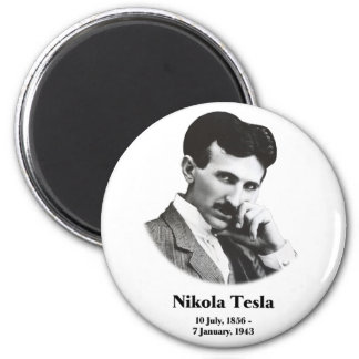 Young Tesla 2 Inch Round Magnet