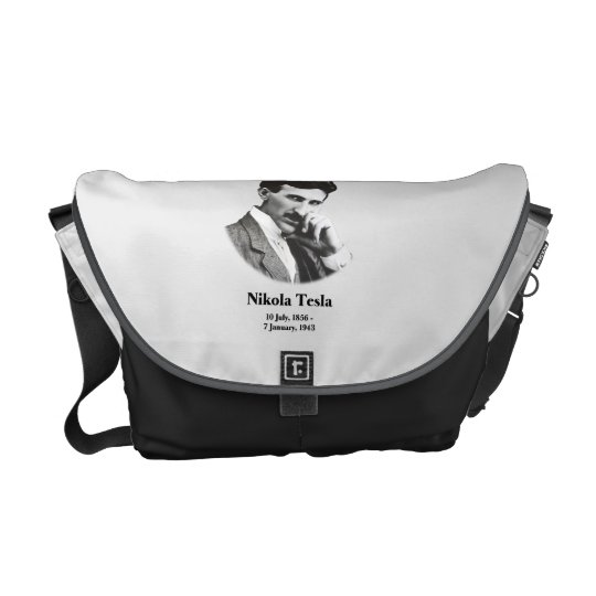 Young Tesla Messenger Bag