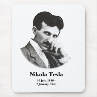 Young Tesla Mouse Pad