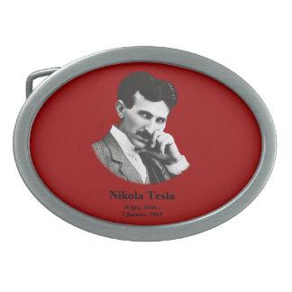 Young Tesla Oval Belt Buckle