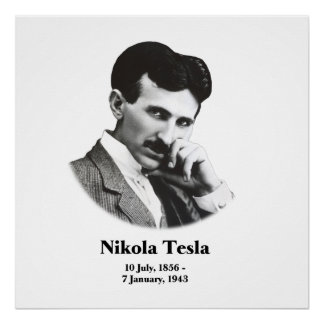 Young Tesla Poster