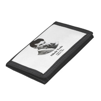 Young Tesla Trifold Wallets