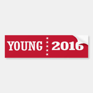 Young - Todd Young 2016 Bumper Sticker