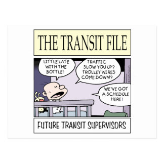 Young Transit Supervisors Postcard