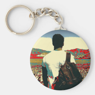 Young traveller keychain