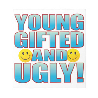Young Ugly Life B Notepad