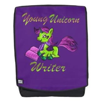Young Unicorn Writer Backpack