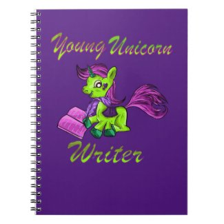 Young Unicorn Writer Notebook