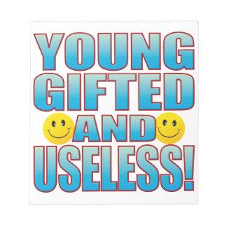 Young Useless Life B Notepad