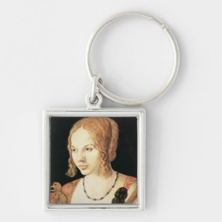 Young Venetian Woman Keychain