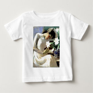 Young Vietnamese Woman with Lily T Shirt
