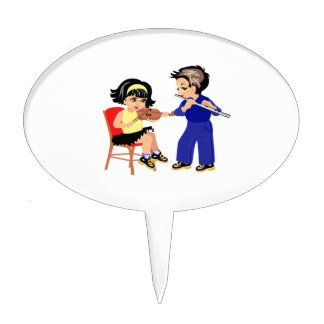 young violin n flute players graphic.png cake topper