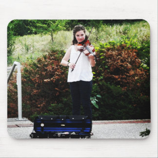 Young Violinist Mouse Pad