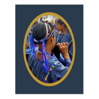 Young Weavers of Atitlan Postcard